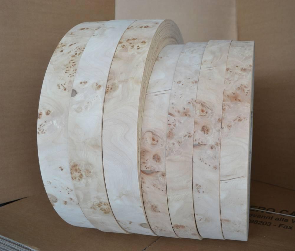 bordi vero legno radica di pioppo