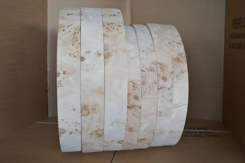 Kanten aus echtem Pappelwurzelholz